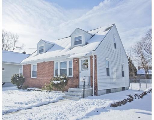 独户住宅 为 销售 在 164 Winton Street Springfield, 马萨诸塞州 01118 美国