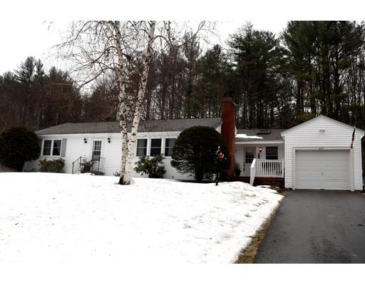 Casa Unifamiliar por un Venta en 601 S Barre Road 601 S Barre Road Barre, Massachusetts 01005 Estados Unidos