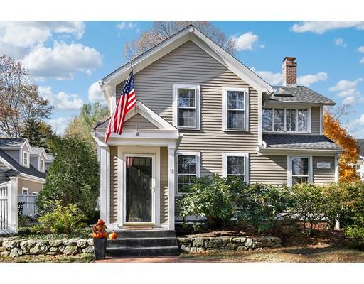 Maison unifamiliale pour l Vente à 11 Wood Street 11 Wood Street Concord, Massachusetts 01742 États-Unis