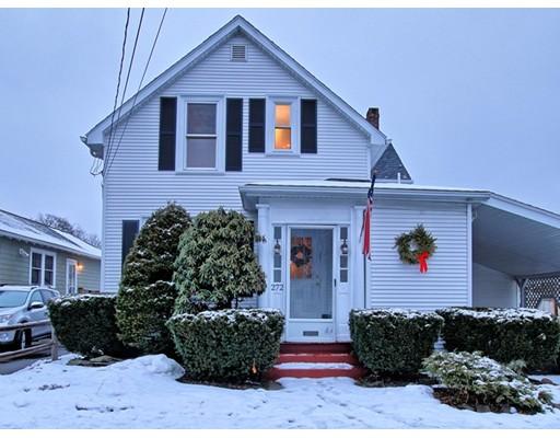Single Family Home for Sale at 272 Riverside Drive 272 Riverside Drive Dedham, Massachusetts 02026 United States