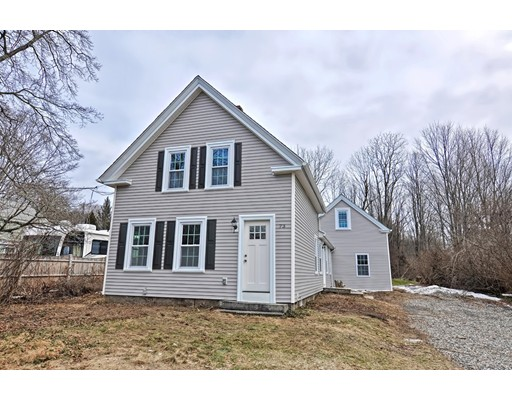 Single Family Home for Sale at 73 High Street 73 High Street Holliston, Massachusetts 01746 United States