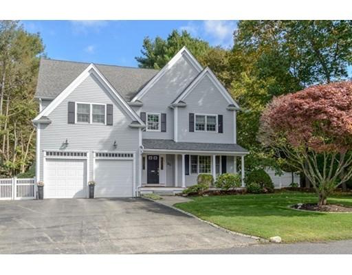 Maison unifamiliale pour l Vente à 21 Lawrence Road 21 Lawrence Road Wellesley, Massachusetts 02482 États-Unis