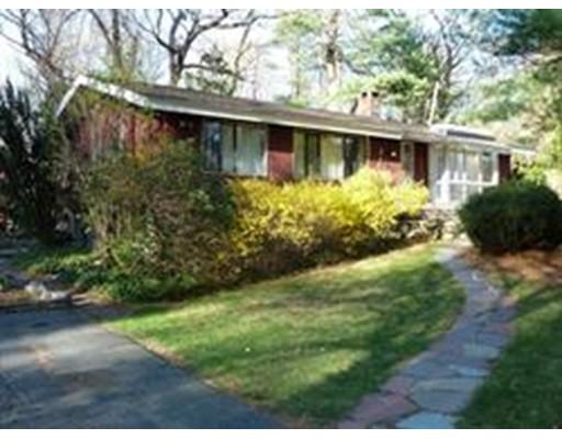 Частный односемейный дом для того Аренда на 9 Peacock Farm Road 9 Peacock Farm Road Lexington, Массачусетс 02421 Соединенные Штаты