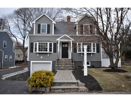 Single Family Home for Sale at 35 Rockmont Road 35 Rockmont Road Arlington, Massachusetts 02474 United States