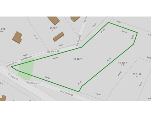 Land for Sale at 1137 East Grove Street Middleboro, 02346 United States