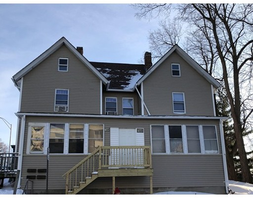 Multi-Family Home for Sale at 162 E Main Street 162 E Main Street Chicopee, Massachusetts 01020 United States