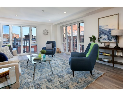 共管式独立产权公寓 为 销售 在 350 North Street 350 North Street 波士顿, 马萨诸塞州 02113 美国