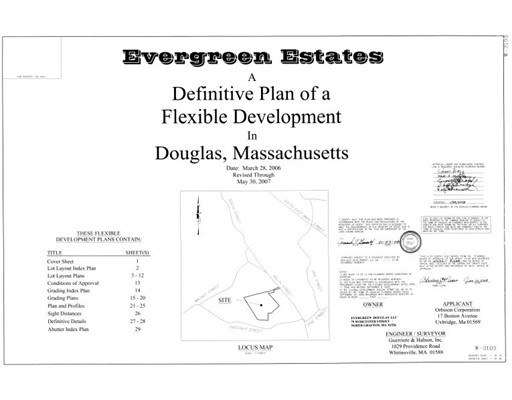 Land for Sale at Address Not Available Douglas, Massachusetts 01516 United States