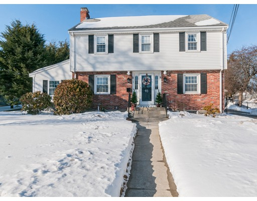 Single Family Home for Sale at 93 Central Avenue 93 Central Avenue Needham, Massachusetts 02494 United States