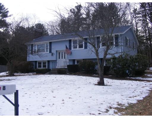 独户住宅 为 销售 在 8 Biscayne Drive 8 Biscayne Drive Billerica, 马萨诸塞州 01821 美国