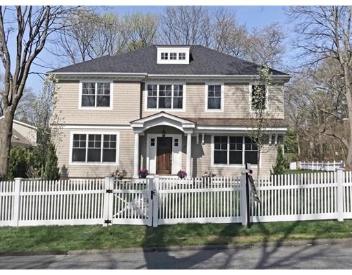 Casa Unifamiliar por un Venta en 92 Dover Road 92 Dover Road Wellesley, Massachusetts 02482 Estados Unidos