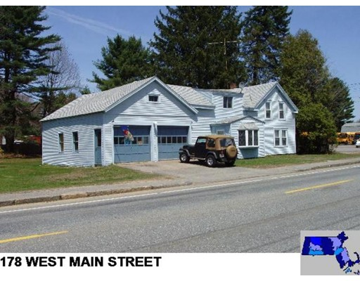 Single Family Home for Sale at 178 W Main Street 178 W Main Street East Brookfield, Massachusetts 01515 United States