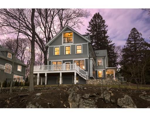 Частный односемейный дом для того Продажа на 18 Kensington Road 18 Kensington Road Arlington, Массачусетс 02476 Соединенные Штаты