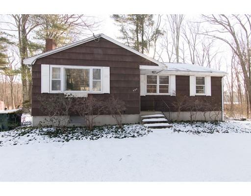 独户住宅 为 销售 在 495 Pleasant Street 495 Pleasant Street 富兰克林, 马萨诸塞州 02038 美国