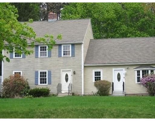Casa unifamiliar adosada (Townhouse) por un Alquiler en 80 Crestwood Dr #80 80 Crestwood Dr #80 Northborough, Massachusetts 01532 Estados Unidos