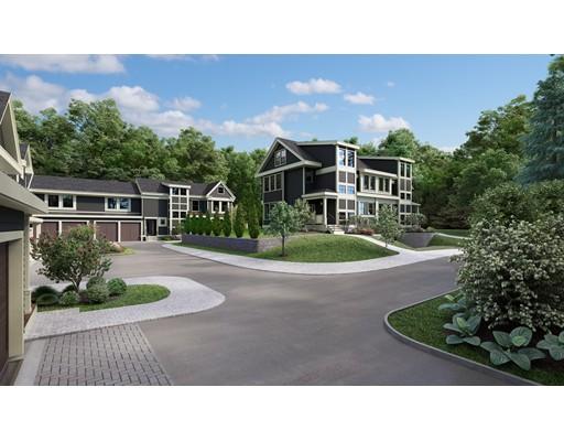 Appartement en copropriété pour l Vente à 373 Langley Road #1 373 Langley Road #1 Newton, Massachusetts 02459 États-Unis