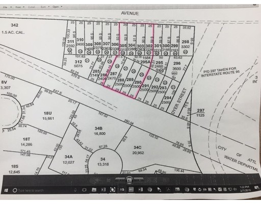 Land for Sale at South Avenue South Avenue Attleboro, Massachusetts 02703 United States