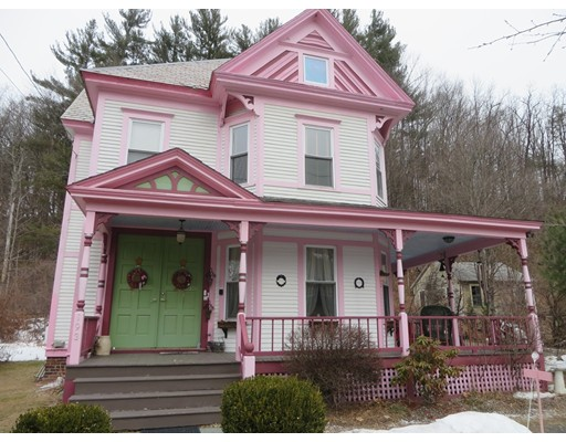 Single Family Home for Sale at 193 Main Street 193 Main Street Charlemont, Massachusetts 01339 United States