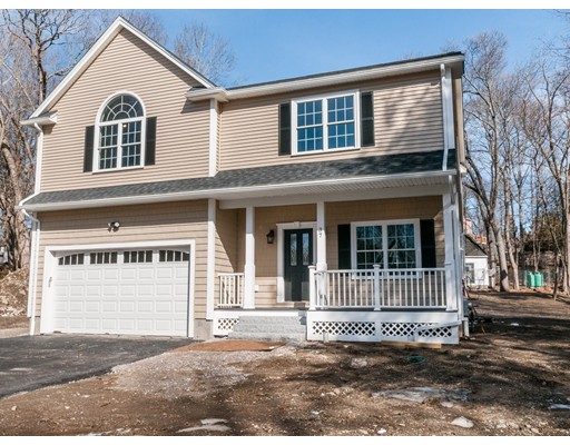 Single Family Home for Sale at 37 Lot 1 Bradford Street 37 Lot 1 Bradford Street Waltham, Massachusetts 02451 United States