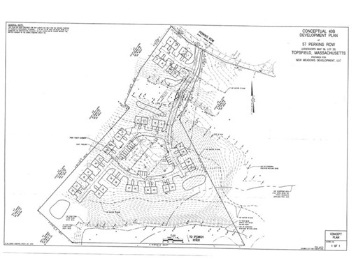 Land for Sale at 57 Perkins Row 57 Perkins Row Topsfield, Massachusetts 01983 United States
