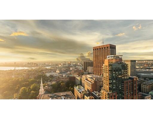 Condominio por un Alquiler en 1 Franklin St #3403 1 Franklin St #3403 Boston, Massachusetts 02110 Estados Unidos