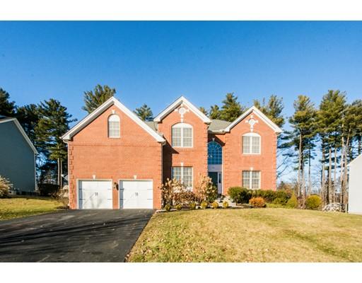 Maison unifamiliale pour l Vente à 133 Endean Drive 133 Endean Drive Walpole, Massachusetts 02032 États-Unis