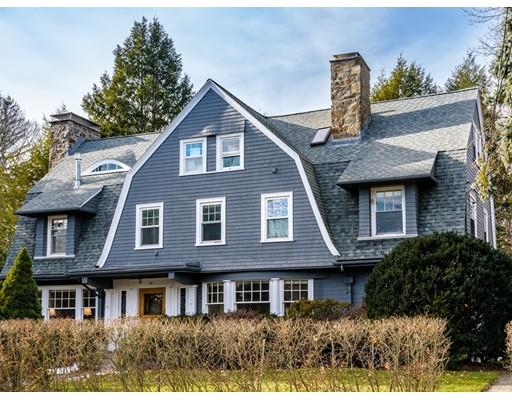 Maison unifamiliale pour l Vente à 25 Wachusett Road 25 Wachusett Road Newton, Massachusetts 02467 États-Unis