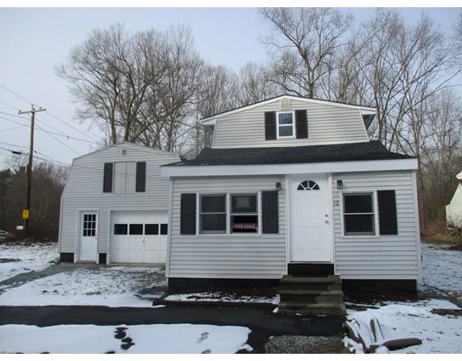 独户住宅 为 销售 在 12 Old Southbridge Road 12 Old Southbridge Road Oxford, 马萨诸塞州 01540 美国
