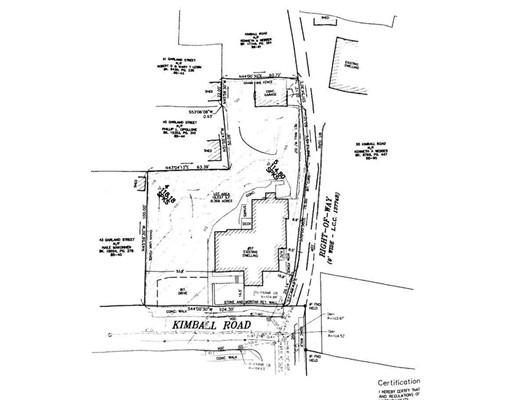 Terrain pour l Vente à 57 Kimball Road 57 Kimball Road Chelsea, Massachusetts 02150 États-Unis