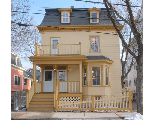 Single Family Home for Sale at 17 Wallace Street 17 Wallace Street Somerville, Massachusetts 02144 United States