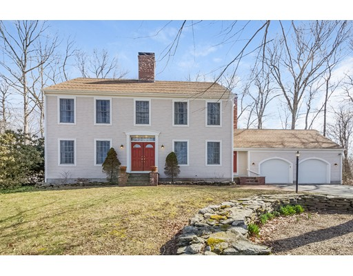 独户住宅 为 销售 在 45 Old Farms Road 45 Old Farms Road Andover, 康涅狄格州 06232 美国