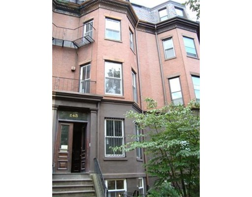Casa Unifamiliar por un Alquiler en 243 Beacon Street Boston, Massachusetts 02116 Estados Unidos