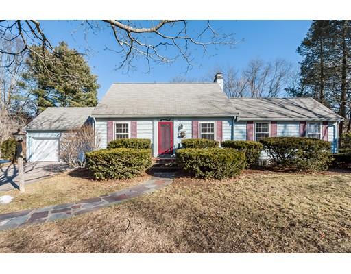 独户住宅 为 销售 在 7 Sprague Road 7 Sprague Road 韦尔茨利, 马萨诸塞州 02481 美国