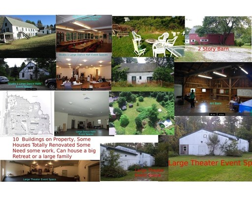 Single Family Home for Sale at 15 East Street 15 East Street Stockbridge, Massachusetts 01262 United States