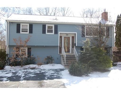 Частный односемейный дом для того Аренда на 20 Pumpkin Pine 20 Pumpkin Pine Natick, Массачусетс 01760 Соединенные Штаты