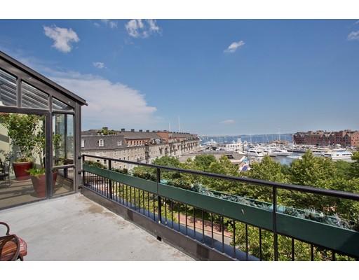 Casa Unifamiliar por un Alquiler en 145 Commercial Street Boston, Massachusetts 02109 Estados Unidos