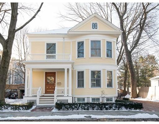 Single Family Home for Sale at 26 Parker Street 26 Parker Street Cambridge, Massachusetts 02138 United States