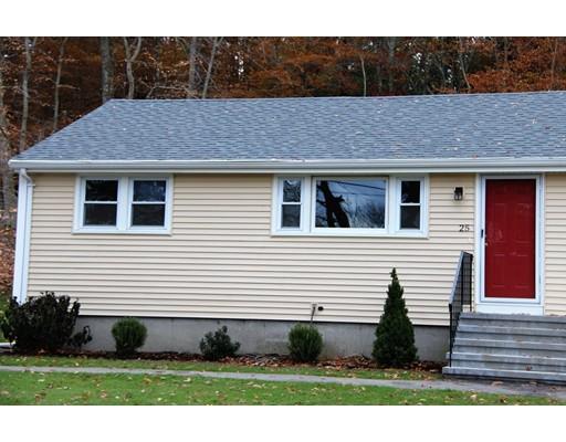 Casa unifamiliar adosada (Townhouse) por un Alquiler en 25 Conant Street #2 25 Conant Street #2 Bridgewater, Massachusetts 02324 Estados Unidos