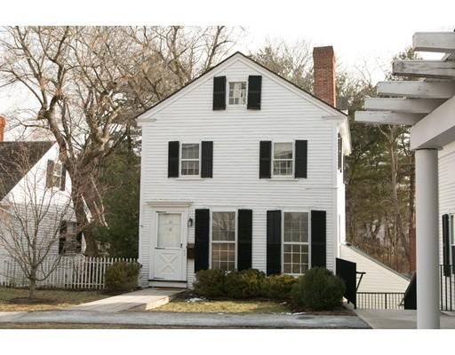 Maison unifamiliale pour l à louer à 23 Church Green #23 23 Church Green #23 Concord, Massachusetts 01742 États-Unis