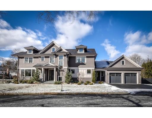 独户住宅 为 销售 在 57 Metacomet Road 牛顿, 马萨诸塞州 02468 美国