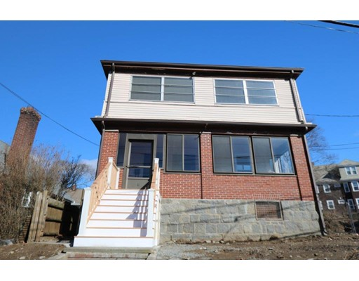 """THIS FINE WEST ROXBURY 2-FAMILY IS A PERFECT OPPORTUNITY FOR A CONDO CONVERSION OR OWNER OCCUPANT!  Well-maintained classic two-family in this highly desirable West Roxbury neighborhood right off of Centre Street is now available!  This home boasts two spacious and bright units with hardwood floors. Both units feature two bedrooms, sun-filled living room, separate dining room, kitchen with pantry area, bathroom, and an additional enclosed porch/sunroom.  Property to be delivered vacant!!  This home has tremendous upside potential and is an excellent opportunity for investor, developer or owner occupant!  This is a great opportunity to invest in central West Roxbury, close to Commuter Rail, Bus line, bustling Centre Street, shopping and all major routes!  Home is being sold """"as-is""""."""