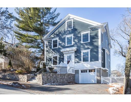 Частный односемейный дом для того Продажа на 17 Grand View Road 17 Grand View Road Arlington, Массачусетс 02476 Соединенные Штаты