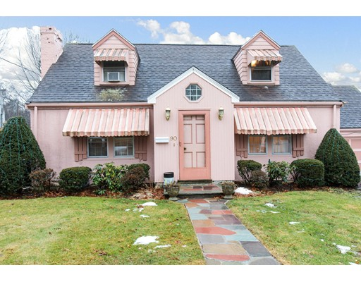 独户住宅 为 销售 在 90 Jackson Street 牛顿, 马萨诸塞州 02459 美国