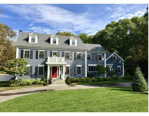 Частный односемейный дом для того Продажа на 501 Glen Road 501 Glen Road Weston, Массачусетс 02493 Соединенные Штаты