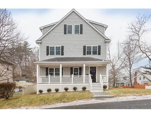 Частный односемейный дом для того Продажа на 74 Alpine Street 74 Alpine Street Arlington, Массачусетс 02474 Соединенные Штаты