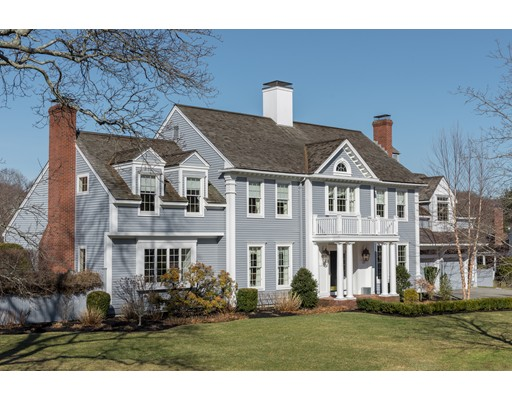 Maison unifamiliale pour l Vente à 12 Kress Farm Road 12 Kress Farm Road Hingham, Massachusetts 02043 États-Unis