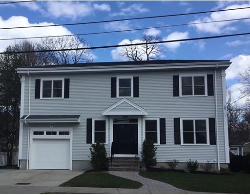 独户住宅 为 销售 在 202 Winslow Road 202 Winslow Road 牛顿, 马萨诸塞州 02468 美国