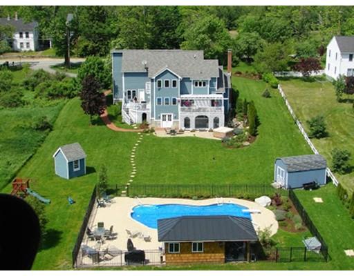 Maison unifamiliale pour l Vente à 162 Sterling Road 162 Sterling Road Princeton, Massachusetts 01541 États-Unis