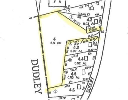 土地,用地 为 销售 在 158 Dudley Road 158 Dudley Road Oxford, 马萨诸塞州 01540 美国