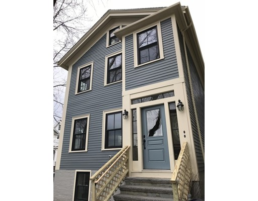 Single Family Home for Rent at 156 Hampshire Street Cambridge, 02139 United States
